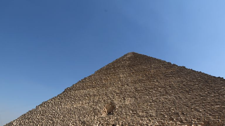 The Great Pyramid of Giza or the Pyramid of Cheops