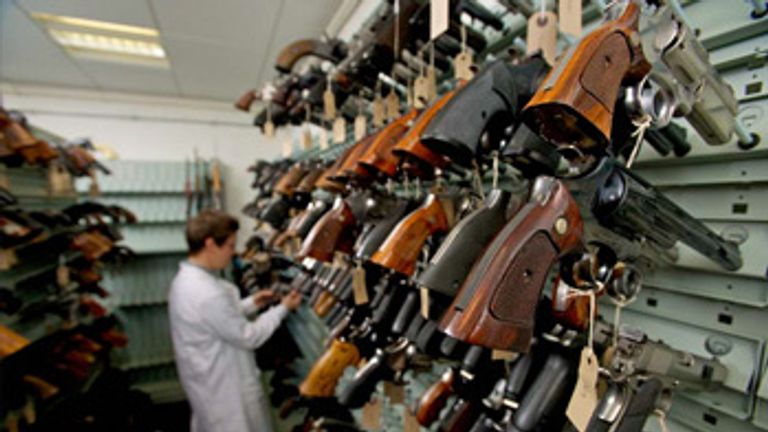 More than 6,000 firearms were handed in during the 2014 nationwide gun amnesty