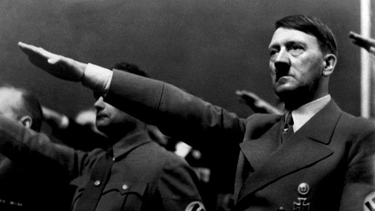 Hitler pictured in September 1939