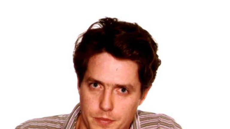 Hugh Grant after his Sunset Boulevard escapade