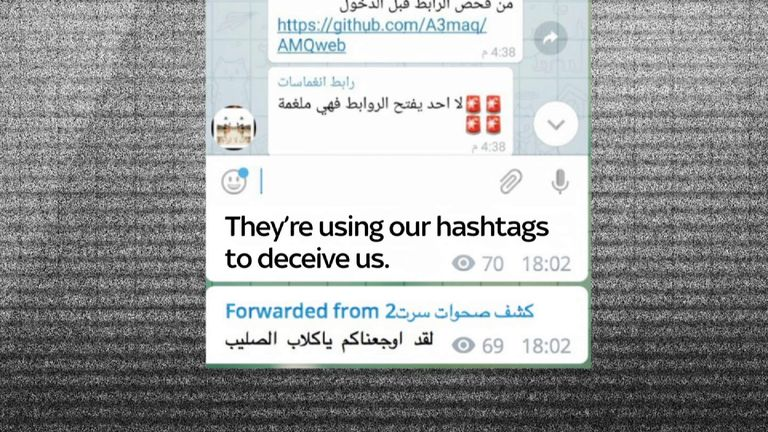 A group of Iraqi hackers are taking on Islamic State with 'fake news'