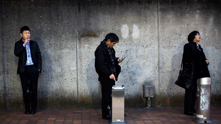 Japan is moving to pass its strictest-ever smoking laws,