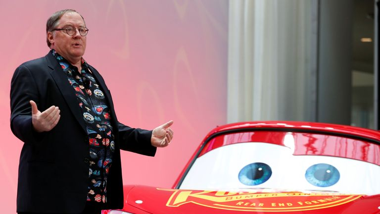 Cars is among Lasseter's filmography