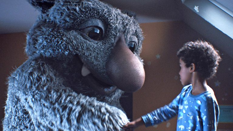 John Lewis Christmas.The John Lewis Christmas Ad Has Landed Featuring A Noisy Monster And A Classic Tune By The Beatles