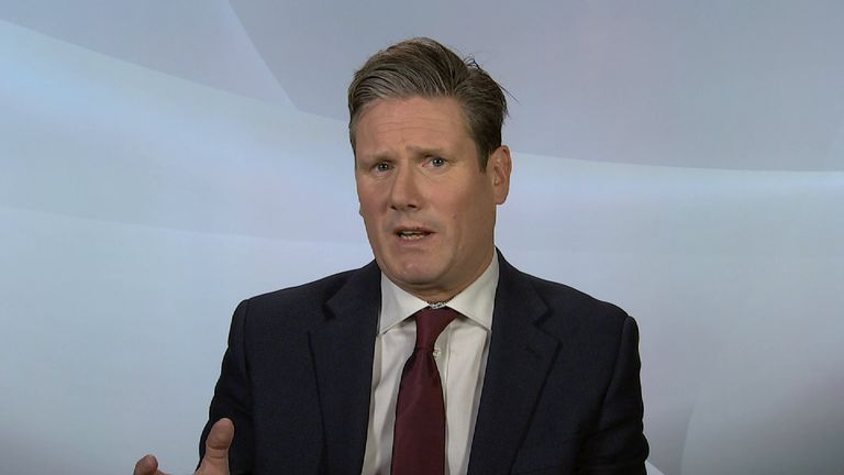 Sir Keir Starmer says Boris Johnson would have been sacked by a stronger prime minister