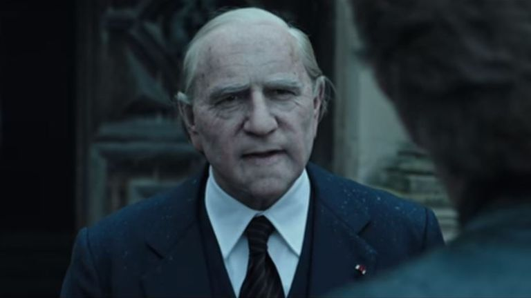 Kevin Spacey as John Paul Getty in the trailer for All The Money In The World. Pic: Sony Pictures