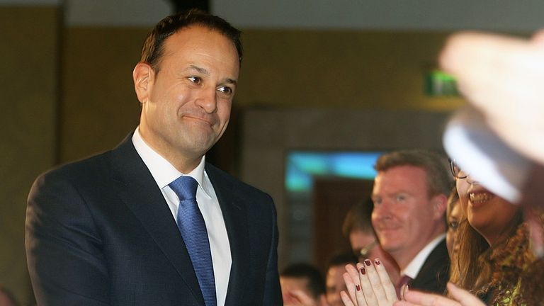 Taoiseach and Fine Gael leader Taoiseach and Fine Gael leader Leo Varadkar