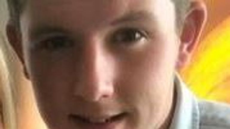 Liam Curry, 19 - killed in Manchester attack