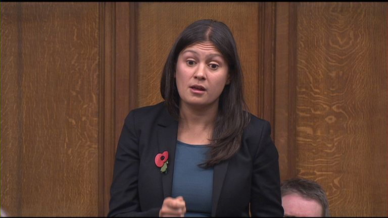 Lisa Nandy asked the PM about claims whips used inside knowledge to discipline MPs