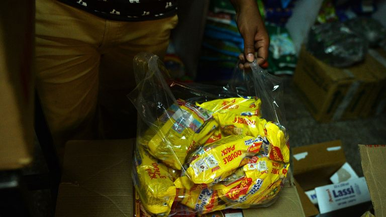 In 2015, 38,000 tonnes of noodles were recalled to be destroyed