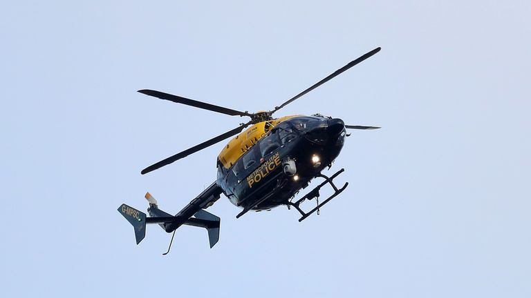 Undated file photo of a metropolitan Police helicopter. Police helicopters take so long to get to crime scenes that thousands are called off mid-air because the incident has already finished, a watchdog has found.