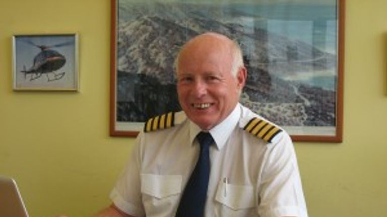Captain Mike Green died in the crash on Friday 17 November. Pic: Helicopter Services