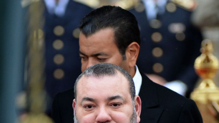 King Mohammed VI said he will pay for the funerals