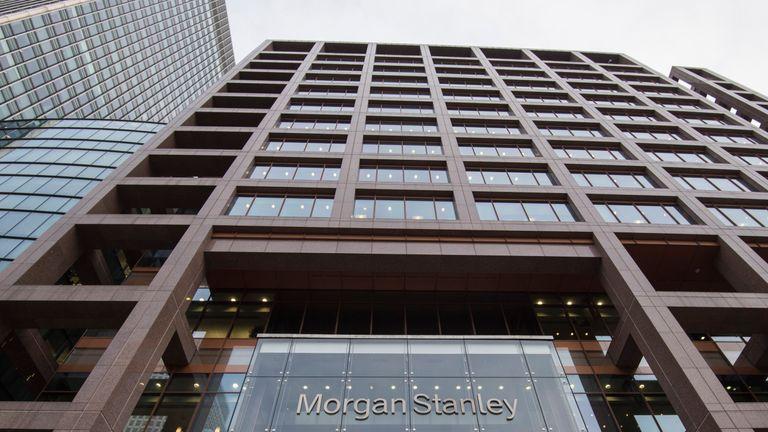 Morgan Stanley's UK headquarters