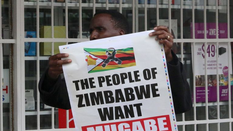 Anti-Mugabe marchers claim Zimbabweans have been suffering for a long time