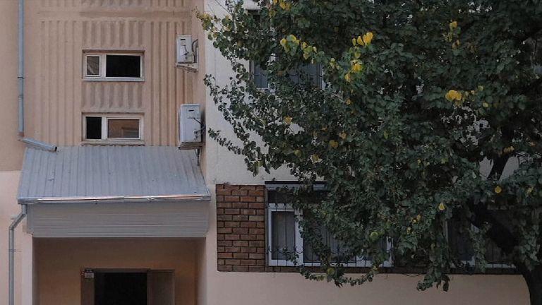 An apartment block in Tashkent, Uzbekistan, where Saipov lived with his family