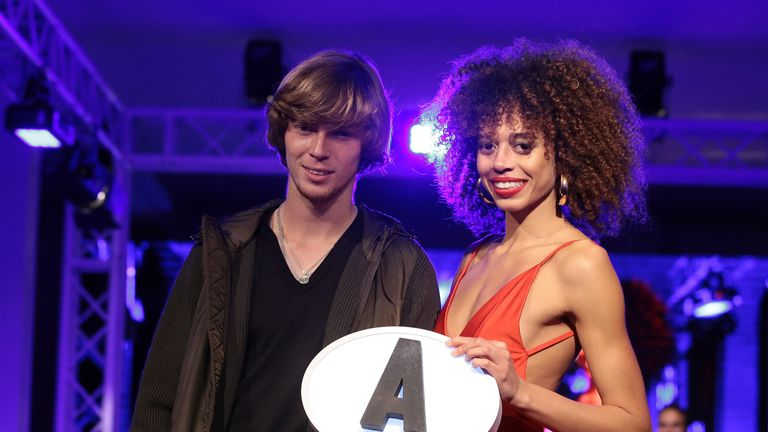 Andrey Rublev is assigned group A during the tournament draw ceremony