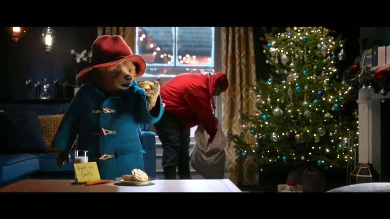 Paddington ends up helping save Christmas