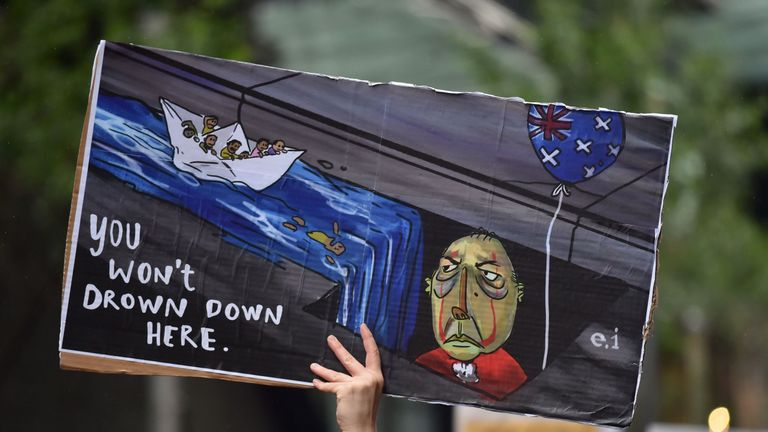 Australia's immigration policy has been widely criticised