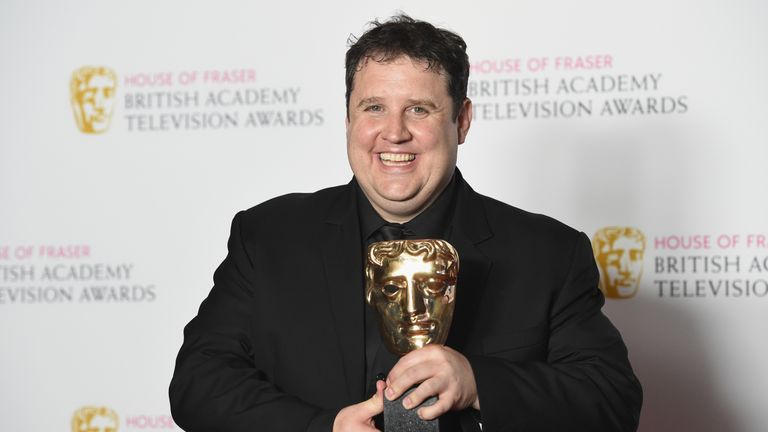 Peter Kay wins BAFTA for car share