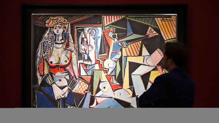 Picasso's Women of Algiers sold for $179m