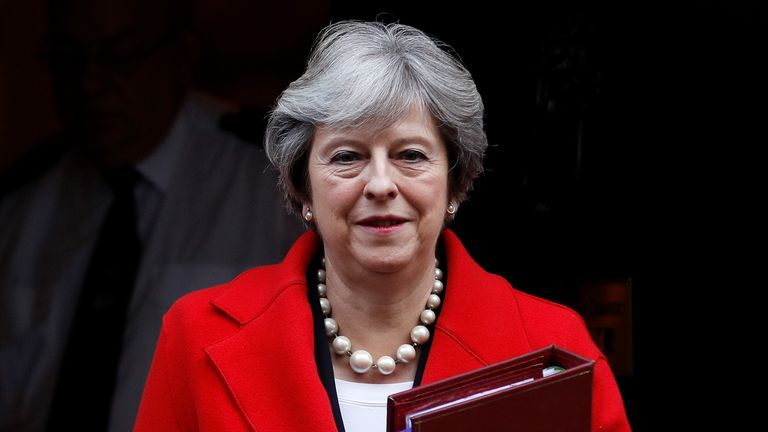Mrs May was given backing by Boris Johnson and Michael Gove to increase the bill offer