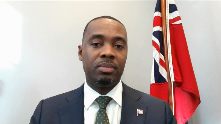 Premier of Bermuda talks tax