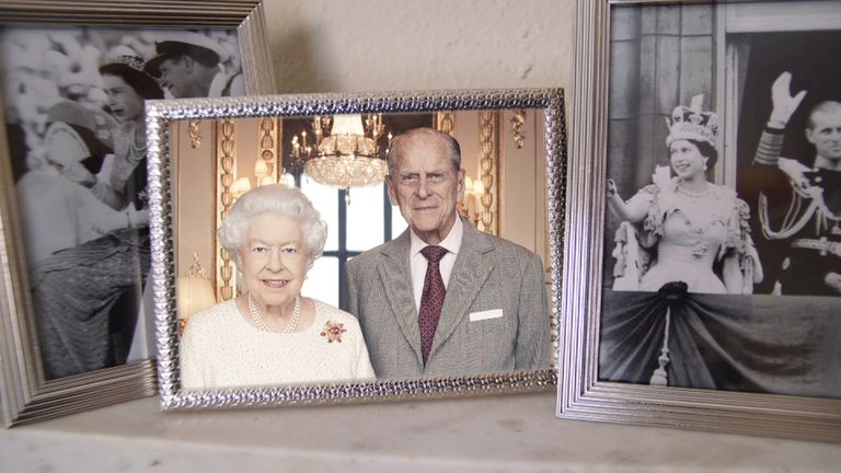 The Queen and the Duke of Edinburgh mark their 70th wedding anniversary