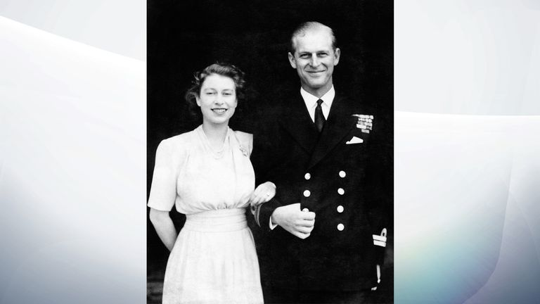 July 1947: Princess Elizabeth and Prince Philip announced their engagement to the world