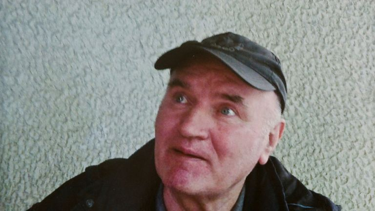 Ratko Mladic after his arrest in Belgrade, Serbia, in May 2011.