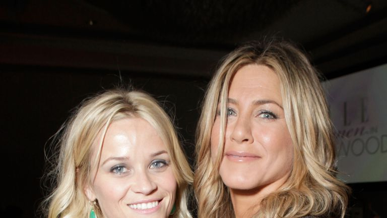 The two friends pictured in 2011 at the Elle Annual Women in Hollywood tribute