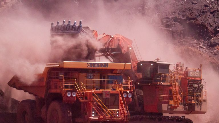 Rio Tinto is one of the world's biggest mining firms