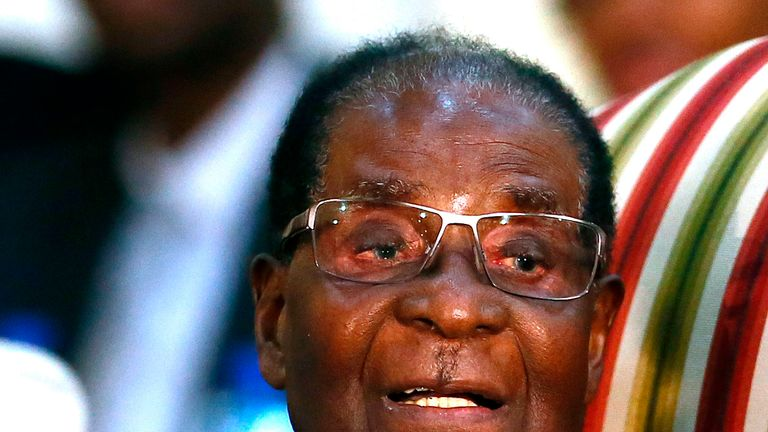 Robert Mugabe has been negotiating his departure with the Zimbabwe military