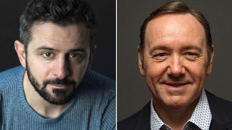 Roberto Cavazos and Kevin Spacey