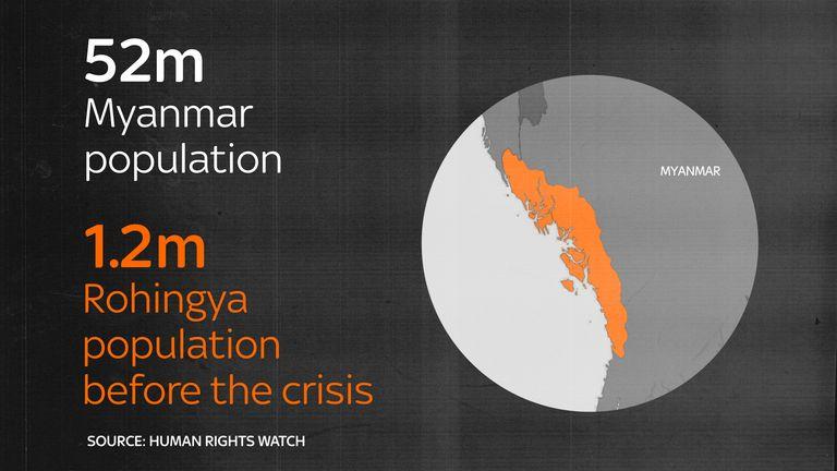 Rohingya population