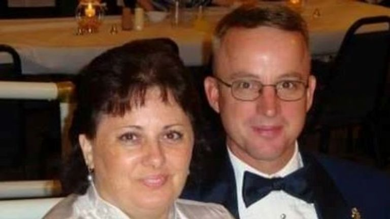 Shani and Bob Corrigan were killed in the Sutherland Springs shooting, Texas in November 2017