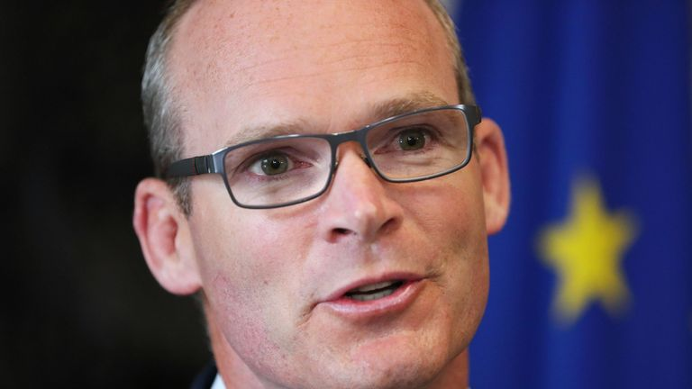Simon Coveney says Ireland is hoping for 'as close to the status quo as possible'