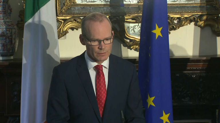 Ireland's foreign minister Simon Coveney has told reporters Brexit is going to 'take a number of years'