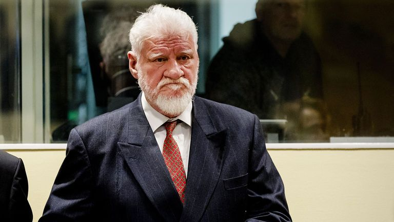 Praljak is one of six political and military appealing against convictions