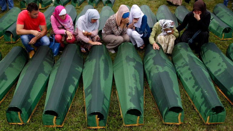 Another 409 Srebrenica victims were newly identified in 2013