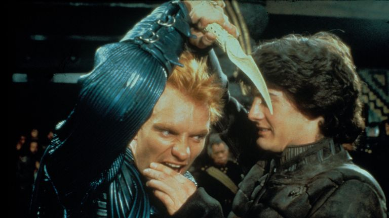Sting and Kyle Maclachlan in David Lynch's 1984 cult film Dune