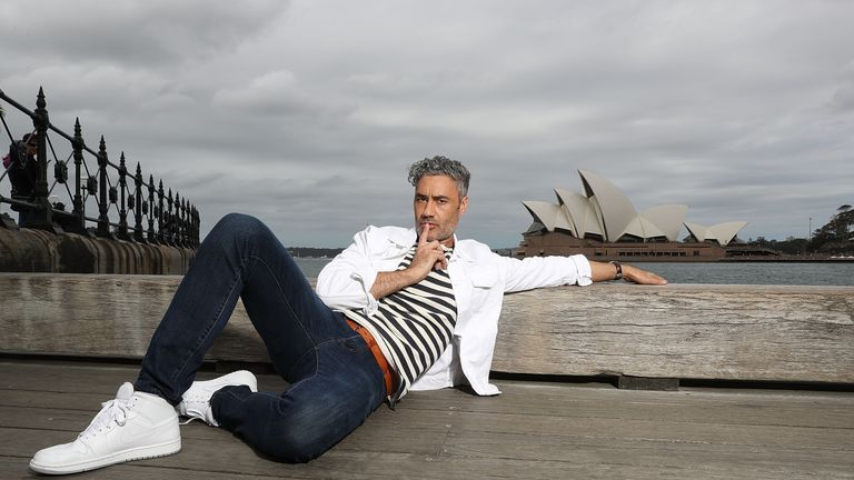 Taika Waititi - of Flight Of The Concords fame - directs the film