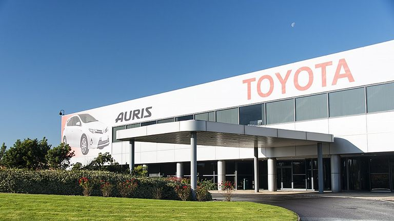 Toyota makes the Auris at its plant in Derbyshire and has and engine factory in north Wales