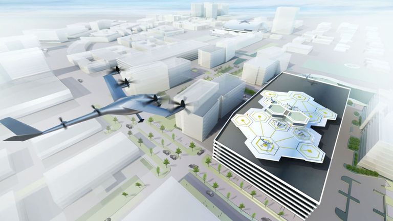 Uber Elevate plans to launch electric flying taxis in just three years' time