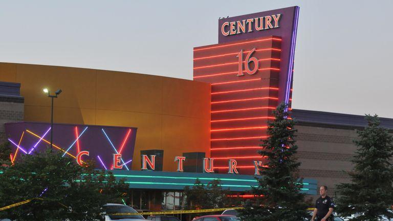 Twelve people were killed in the Century 16 cinema