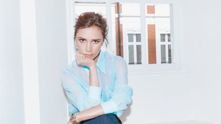 Victoria Beckham's business employed just three people in its early days in 2008. Pic: VBL