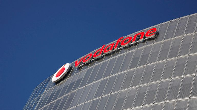 Vodafone shares are listed on the FTSE 100 but it reports financial results in euros. Pic: Vodafone