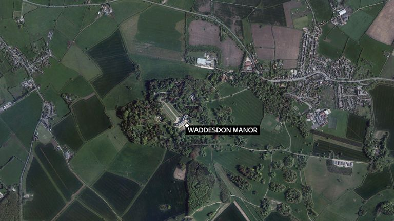 An aircraft and a helicopter have crashed mid-air near Aylesbury, Buckinghamshire