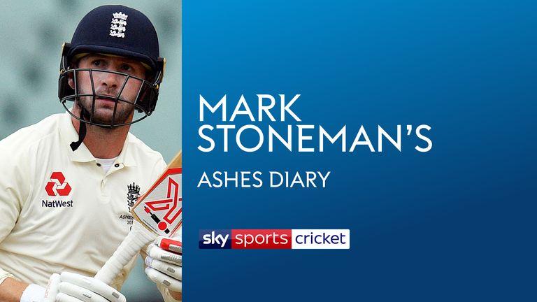 Mark Stoneman's Ashes Diary