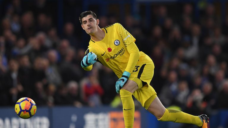Real Madrid Face Psg Battle For Thibaut Courtois From Chelsea Says